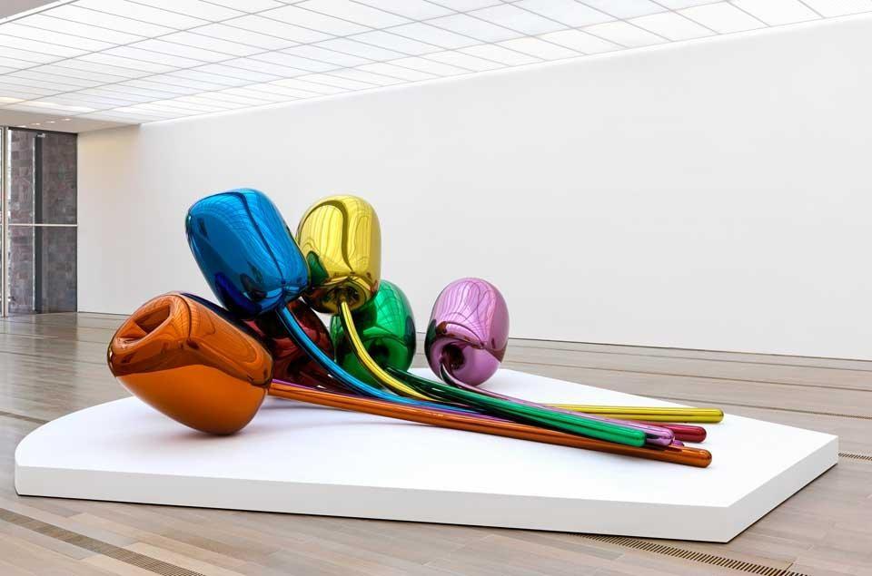 Jeff Koons, Tulips  (1995-2004