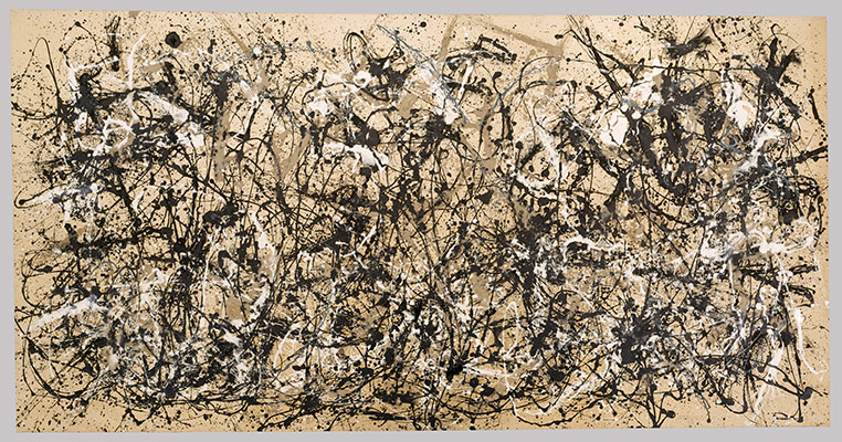 Jackson Pollock,  Autumn Rhythm (1950)