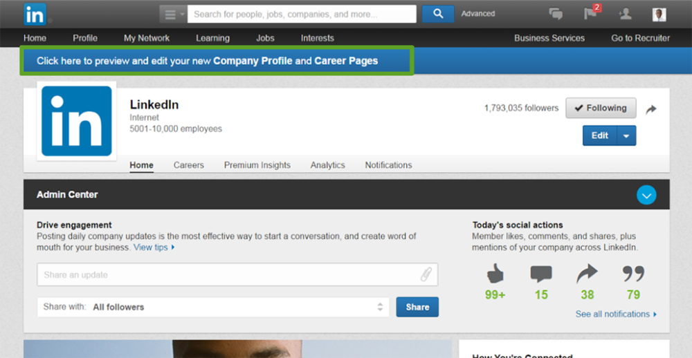 LINKEDIN TIPS: MANAGING YOUR COMPANY PAGE 3
