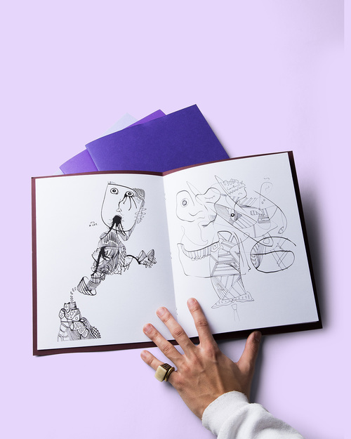 The Time Travel Coloring Book — Old Grape God