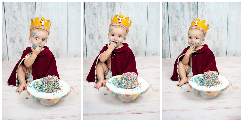 Cake Smash Photography San Diego
