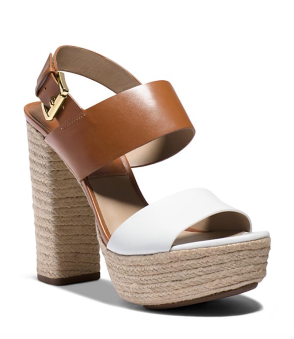 Michael Kors Espadrille Platform Sandals