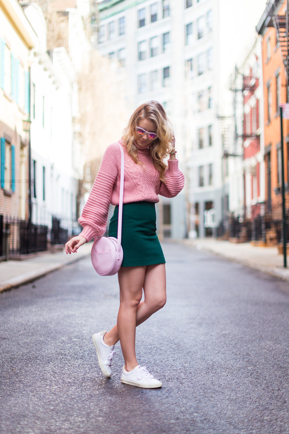 West Village Pink and Green Spring Outfit-2.jpg