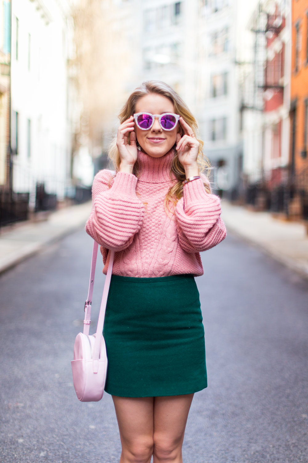 West Village Pink and Green Spring Outfit-5.jpg