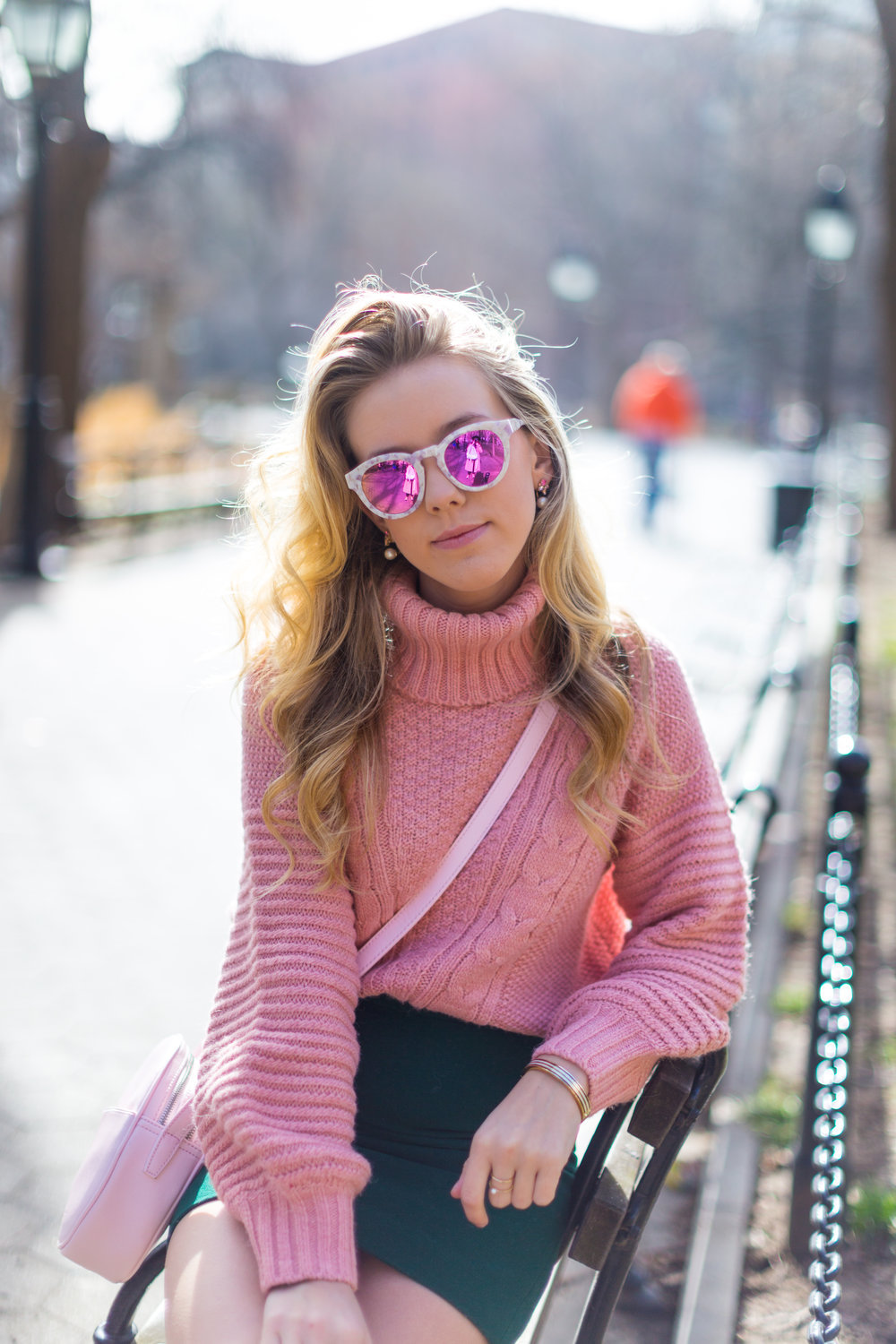 West Village Pink and Green Spring Outfit-9.jpg