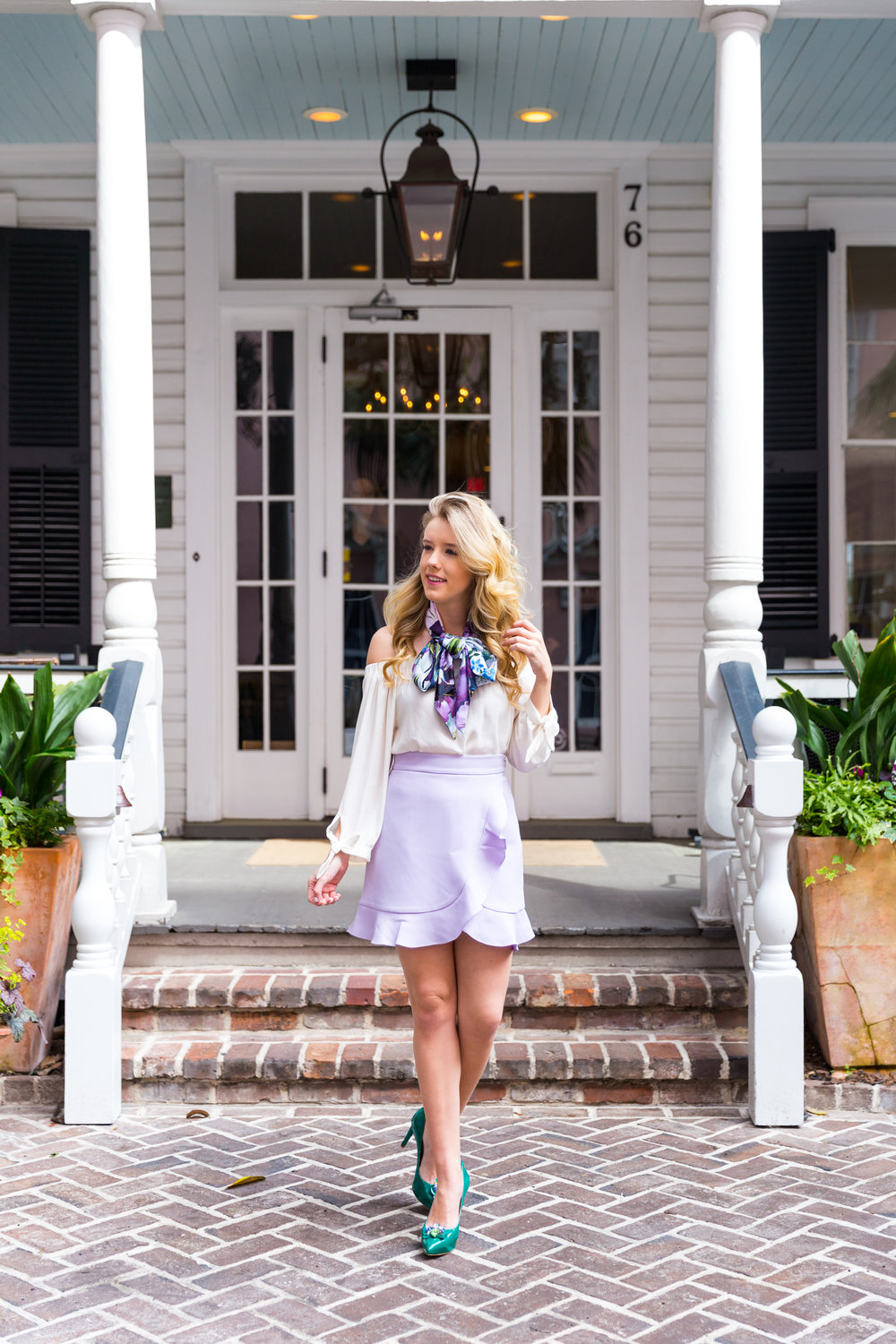 Charleston Purple Ruffle Floral Scarf Spring Outfit-19.jpg