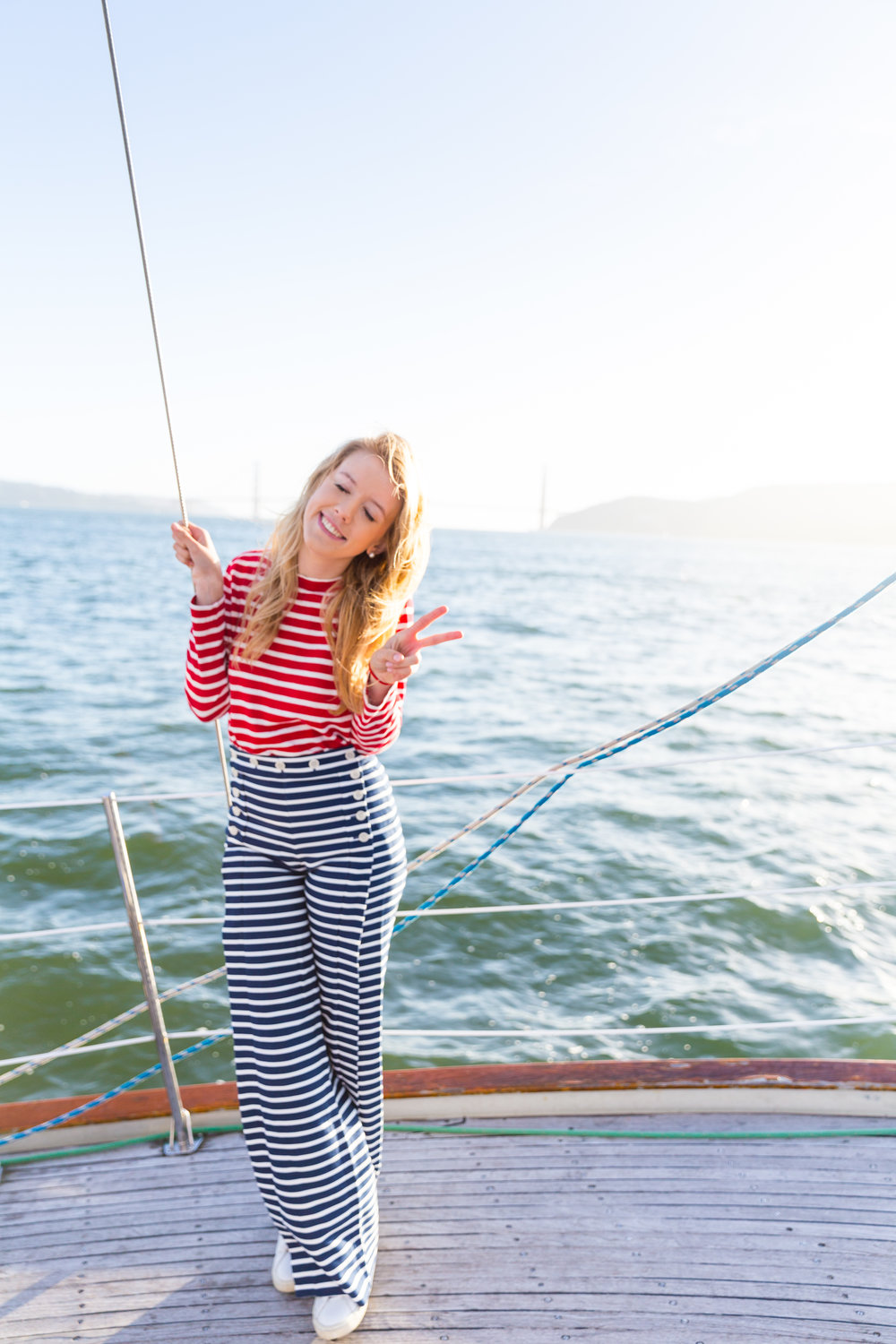 Striped Nautical Sunset Sail Outfit San Francisco-9.jpg