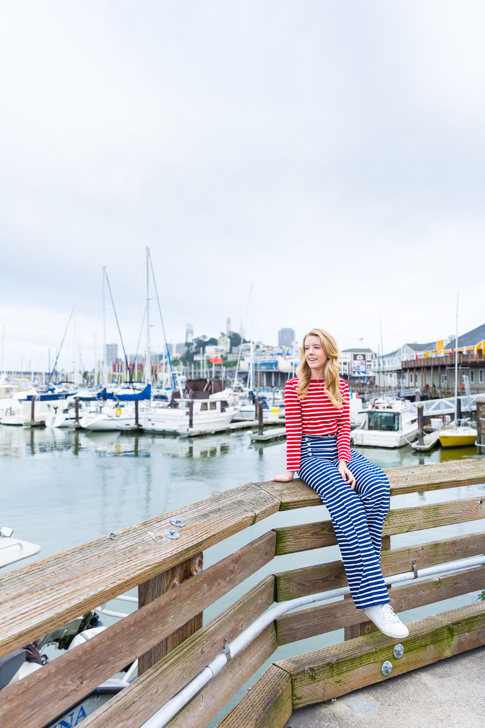 Striped Nautical Sunset Sail Outfit San Francisco.jpg