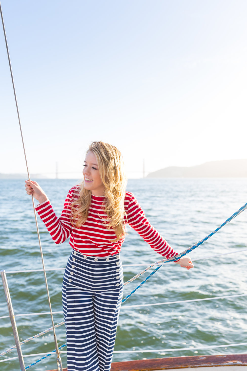 Striped Nautical Sunset Sail Outfit San Francisco-11.jpg