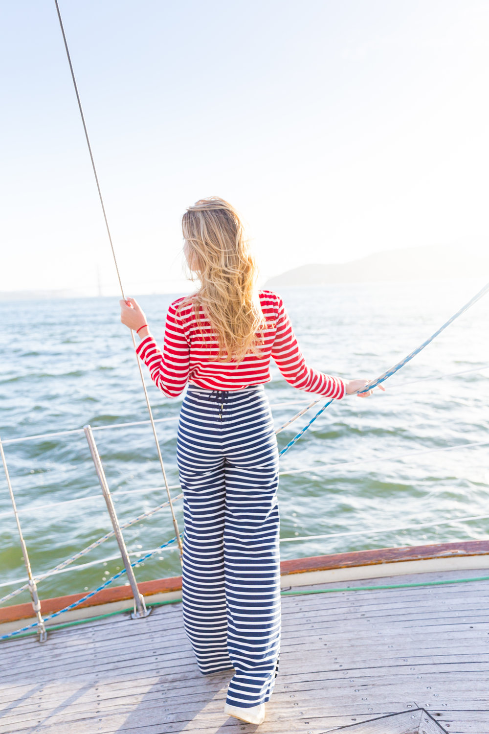 Striped Nautical Sunset Sail Outfit San Francisco-14.jpg