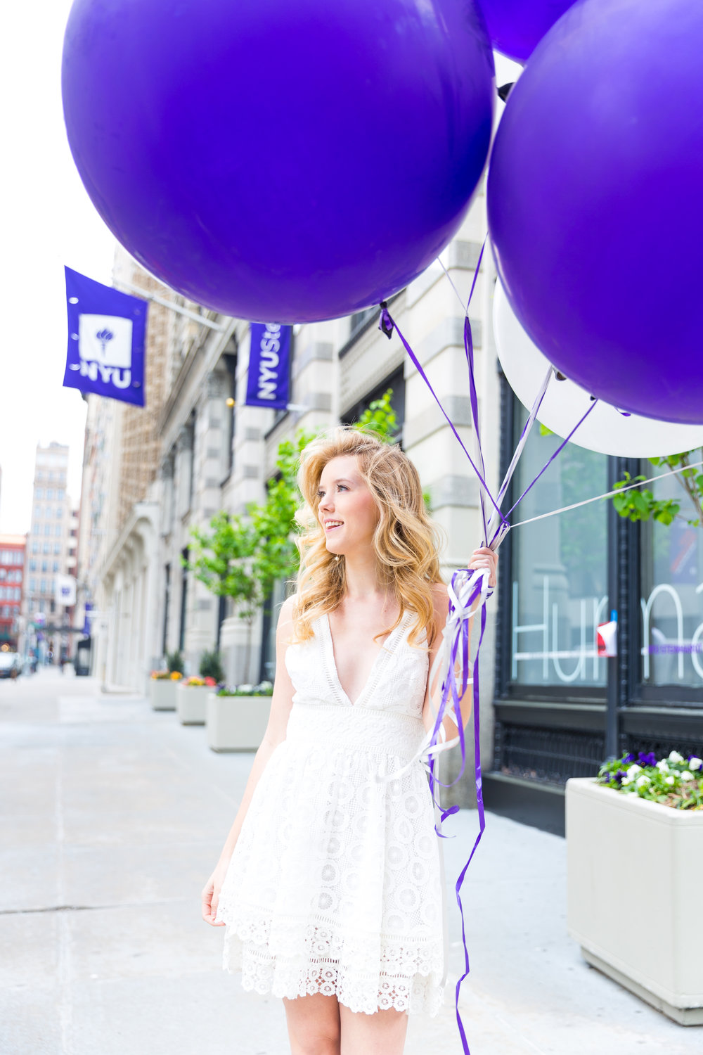White NYU College Graduation Dress Spring NYC-4.jpg
