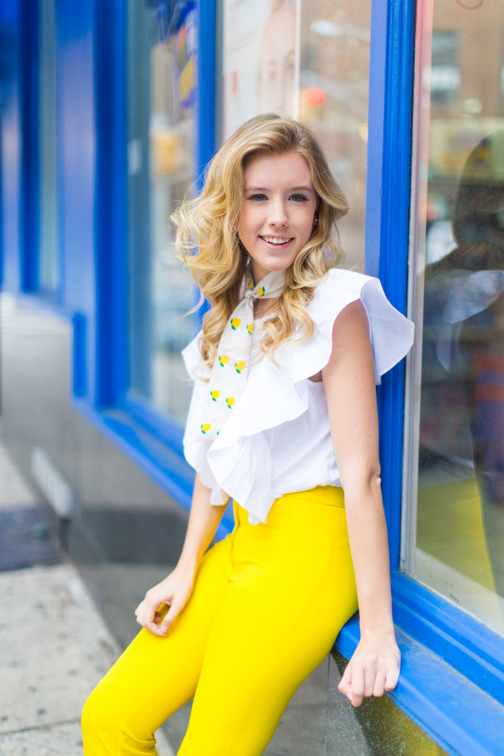 NYC Summer Yellow Lemon Print Outfit-13.jpg