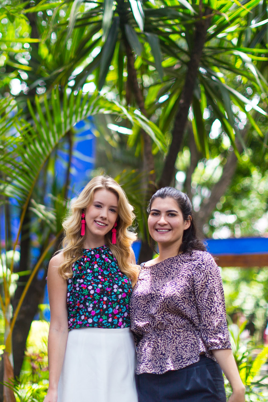 Mexico City Frida Kahlo La Casa Azul Floral Summer Outfit-17.jpg