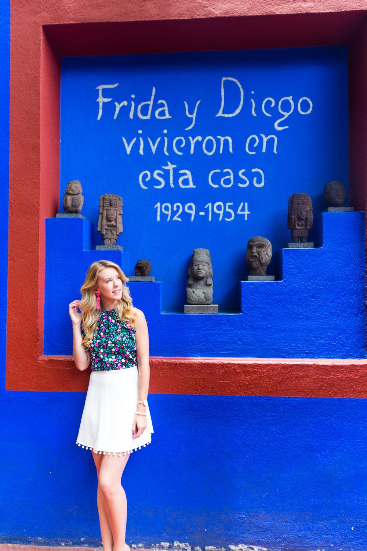 Mexico City Frida Kahlo La Casa Azul Floral Summer Outfit-18.jpg