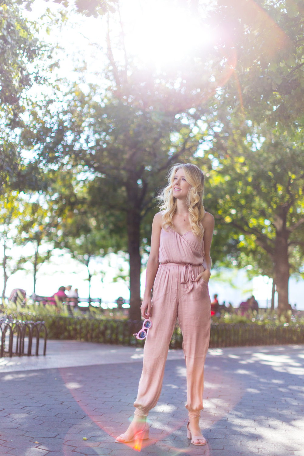 Fall Fashion Pink Silk Jumpsuit NYC-2.jpg