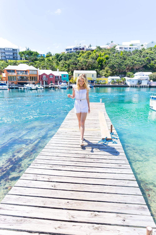 Summer Labor Day Fashion White Lace Romper Bermuda-2.jpg
