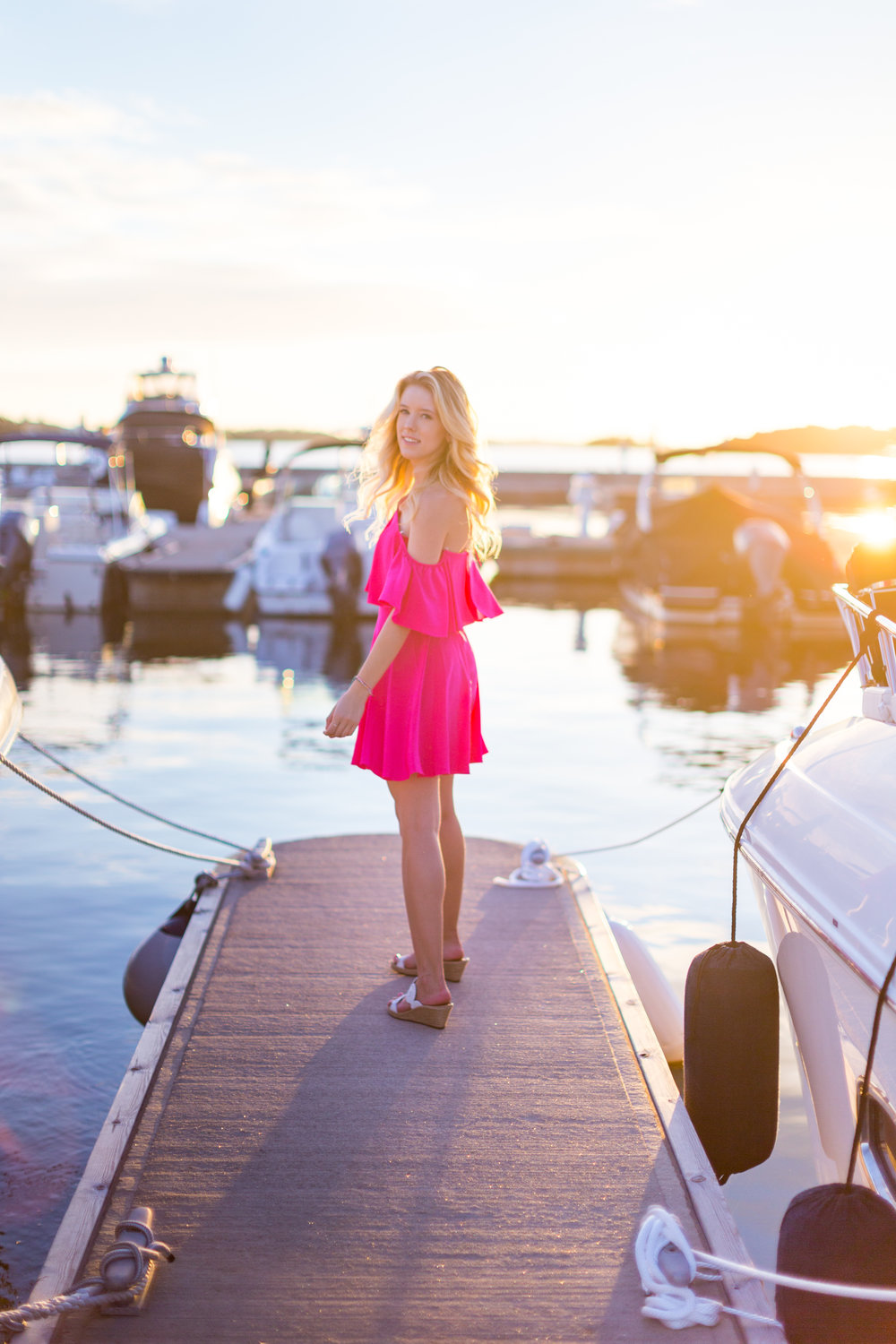 Bermuda Fashion Pink Amanda Uprichard Dress.jpg