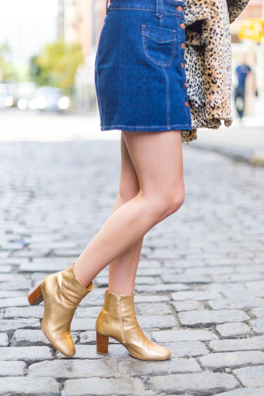 Fall Fashion Denim Mini Skirt and Pearl Embellished Top-8.jpg