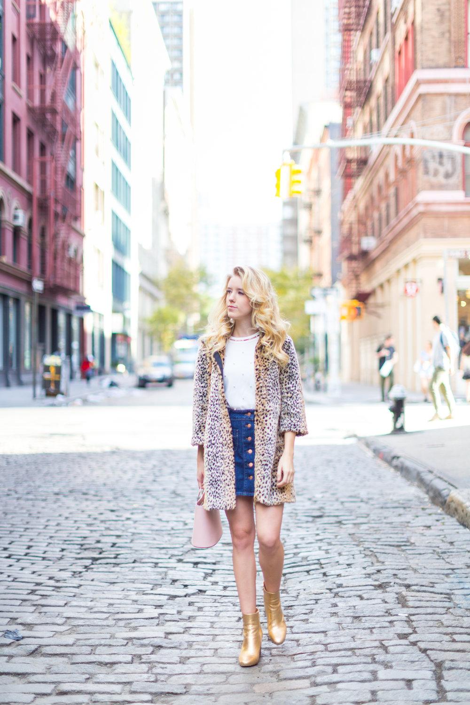 Fall Fashion Denim Mini Skirt and Pearl Embellished Top-7.jpg