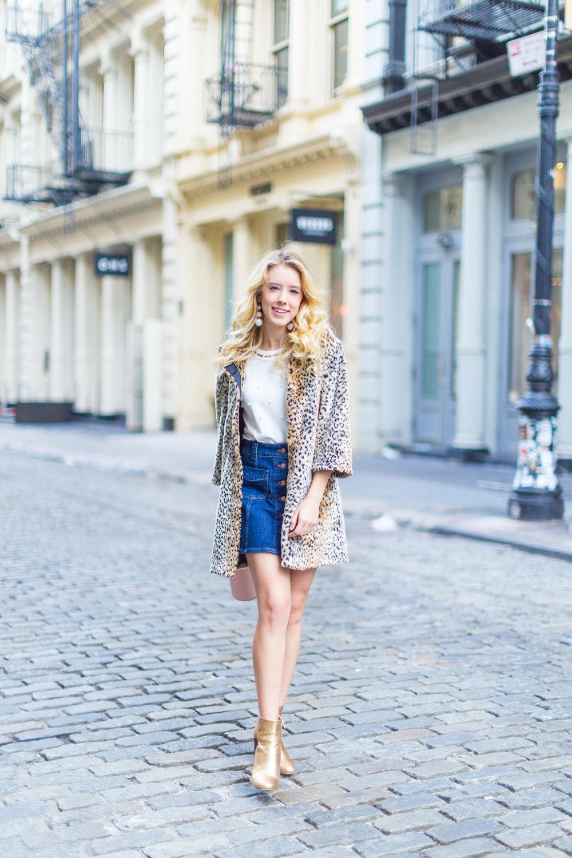 Fall Fashion Denim Mini Skirt and Pearl Embellished Top-9.jpg