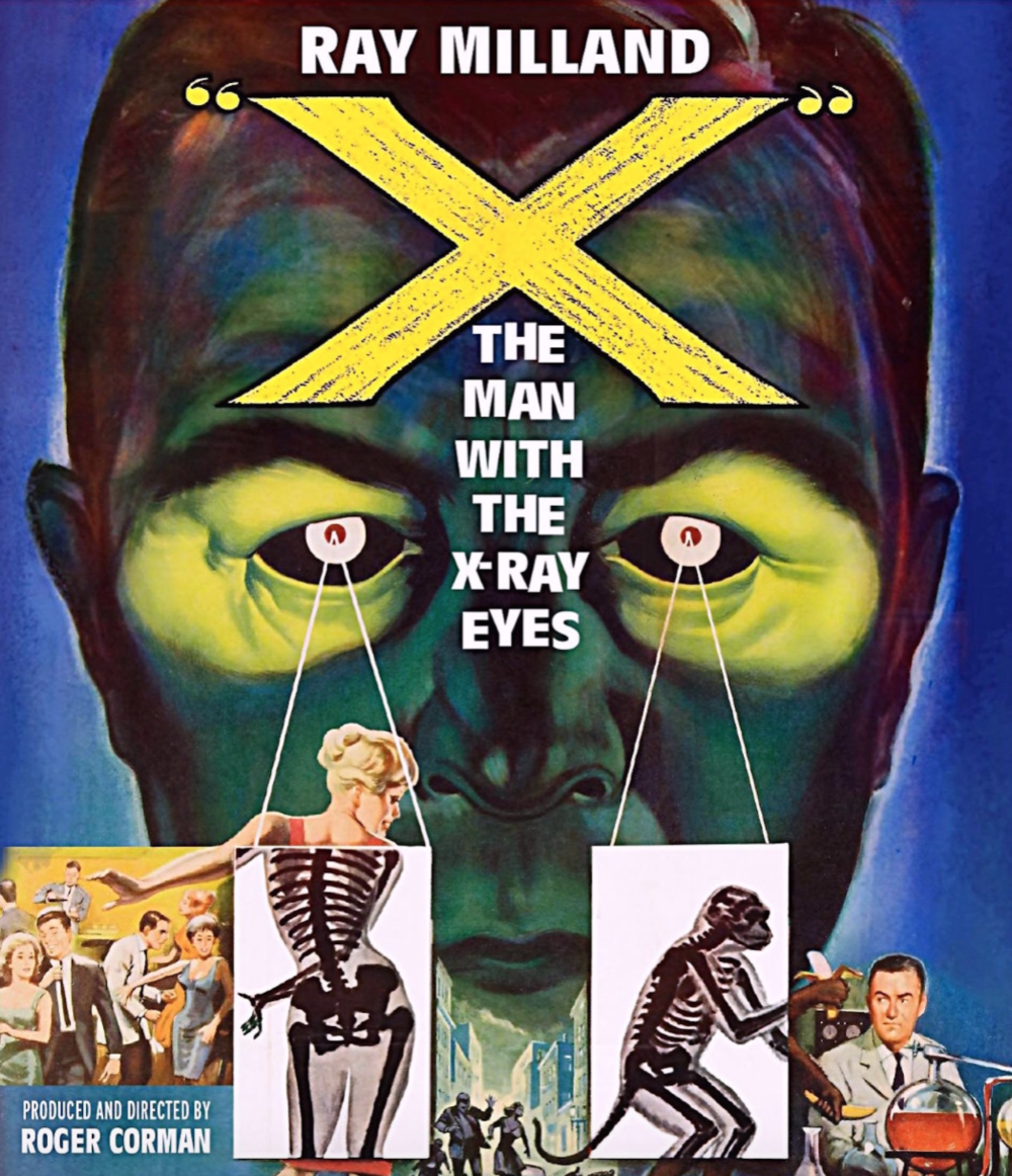 X: The Man With The X-Ray Eyes - Fantastic movie poster!