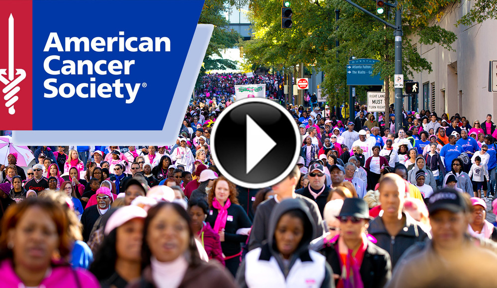American Cancer Society ~ Strides Walk