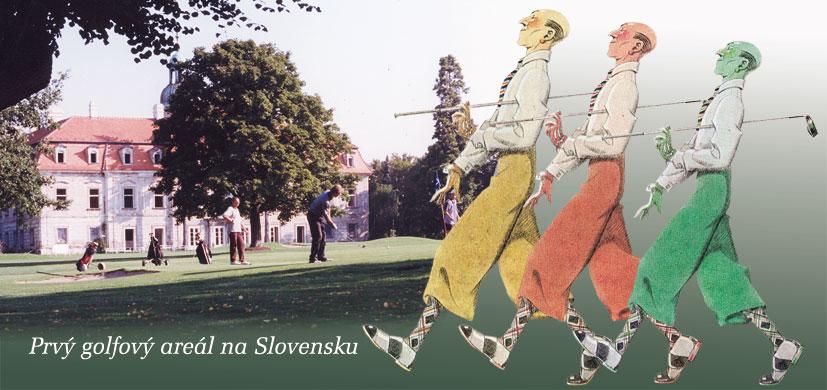 1. pohľadnica golfového klubu.