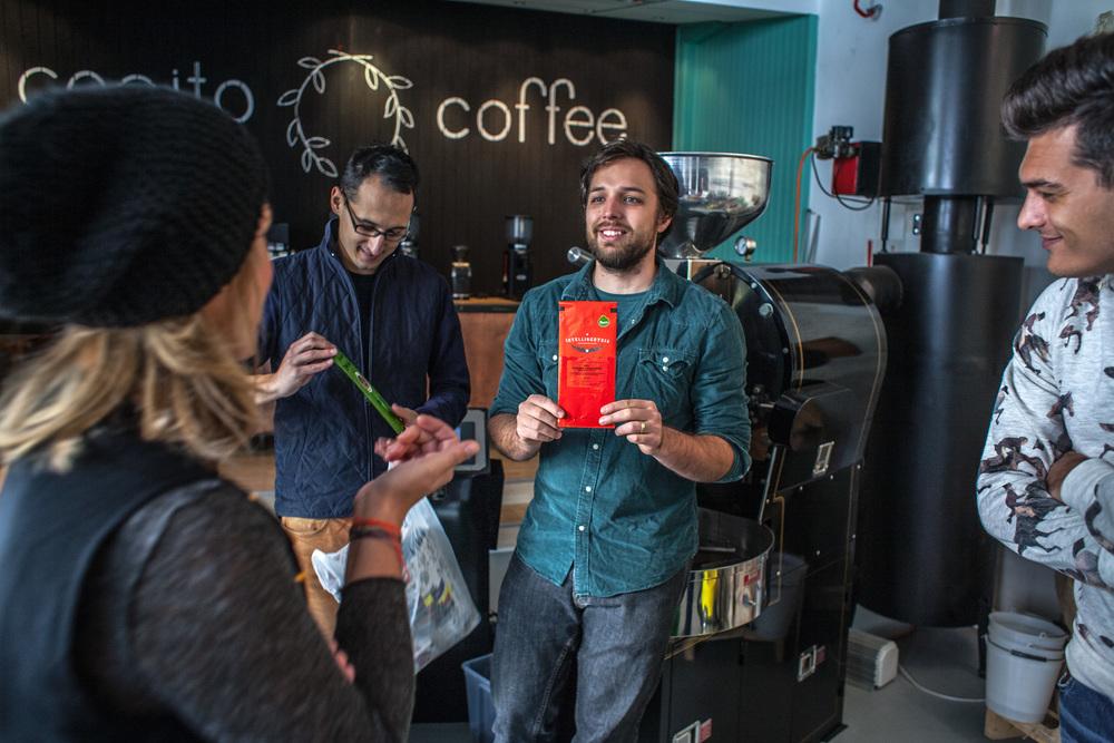 Proces znači učenje, proučavanje, sakupljanje (u ovom slučaju kava malih pržionica diljem svijeta)