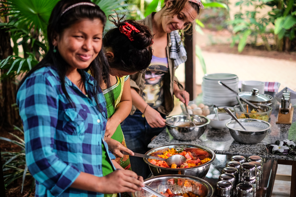Photo: Sanjin Kaštelan / Brunch made in Goa ft. Naga Girls / Samata Goa / Supersoul / 4 Meghan Currie