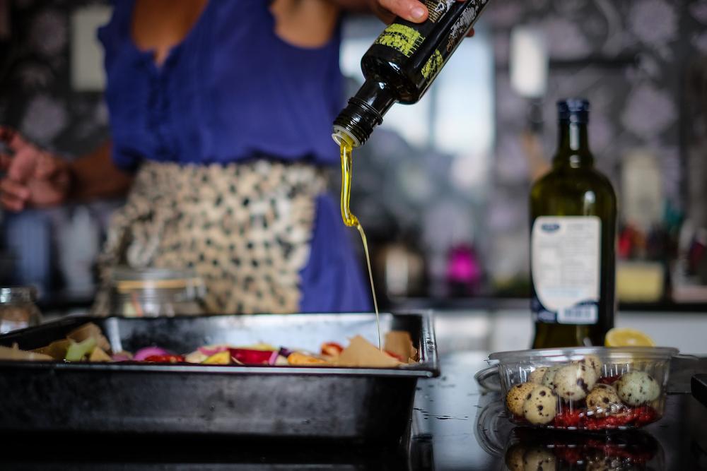 ... maslinovog ulja (prepeličja dolaze kasnije)