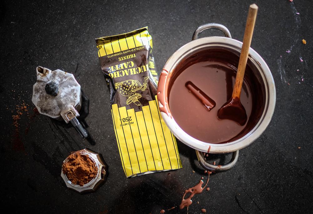 Uz moku dobre talijasnke kave (Cogito Coffee Matije - sorry ali ne stigoh do vaše pržionice prije snimanja pa skočih u nabafku kod Talijana na Dolac)