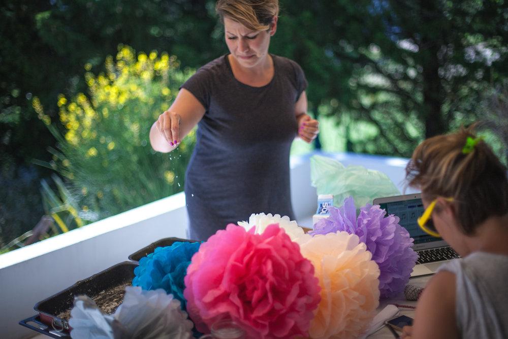 Tanja soli patliđan za beach wedding party na Rabu prije dvije godine