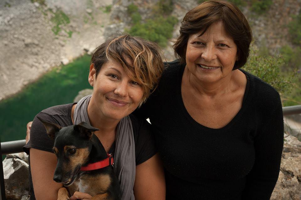 Tanja s mamom