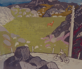 Vilhelm Tveteraas:  Fra Karmøy , 1958