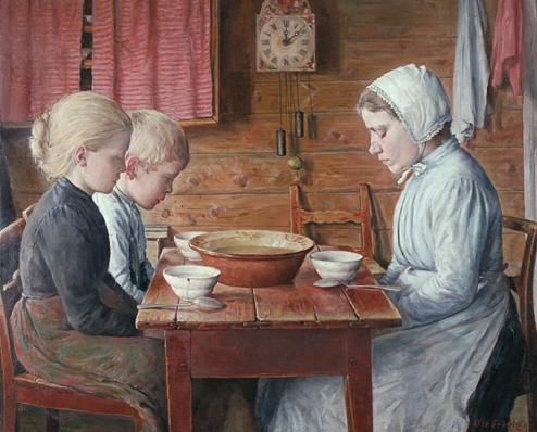 Ole Frøvig:  Bordbønn , 1904