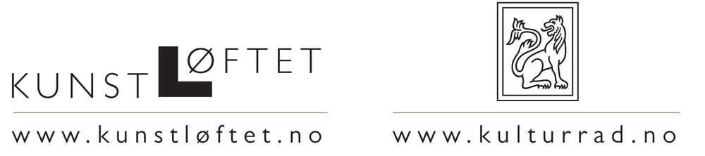 Prosjektet er støttet av KUNSTLØFTET/ Norsk Kulturråd