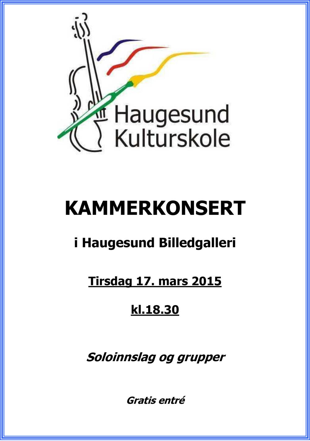 Haugesund kulturskole