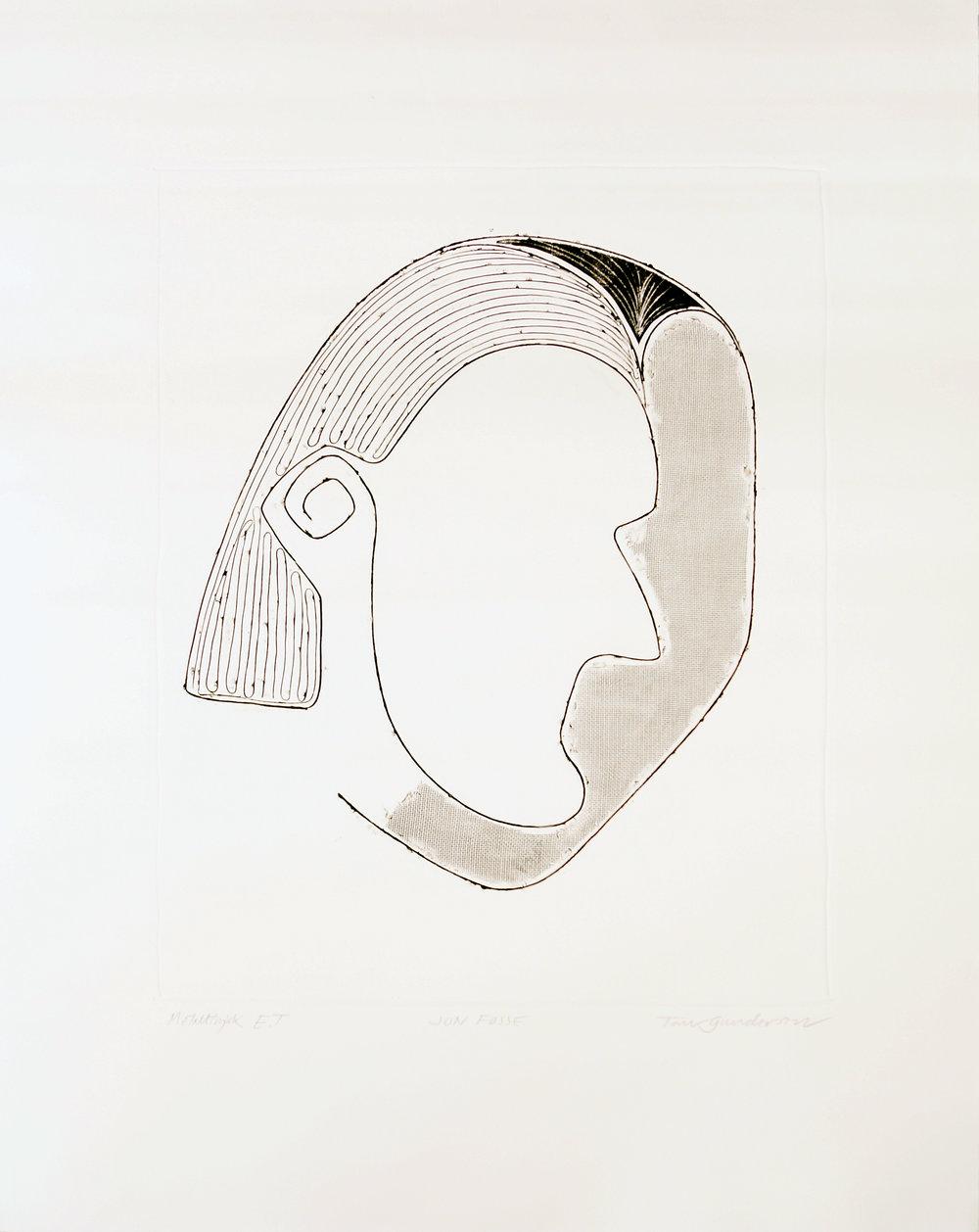 Portrett av Jon Fosse