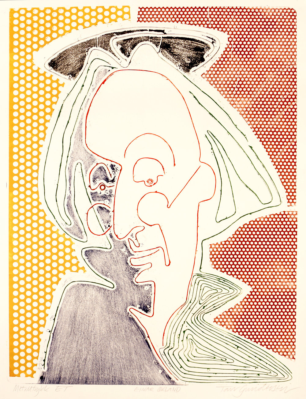 Portrett av Einar Økland