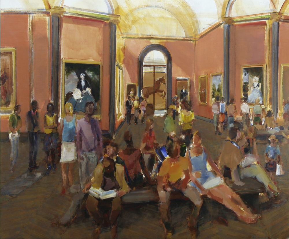 4. Zoffany  (200cm x 240cm) oil on       linen, 2017.jpg