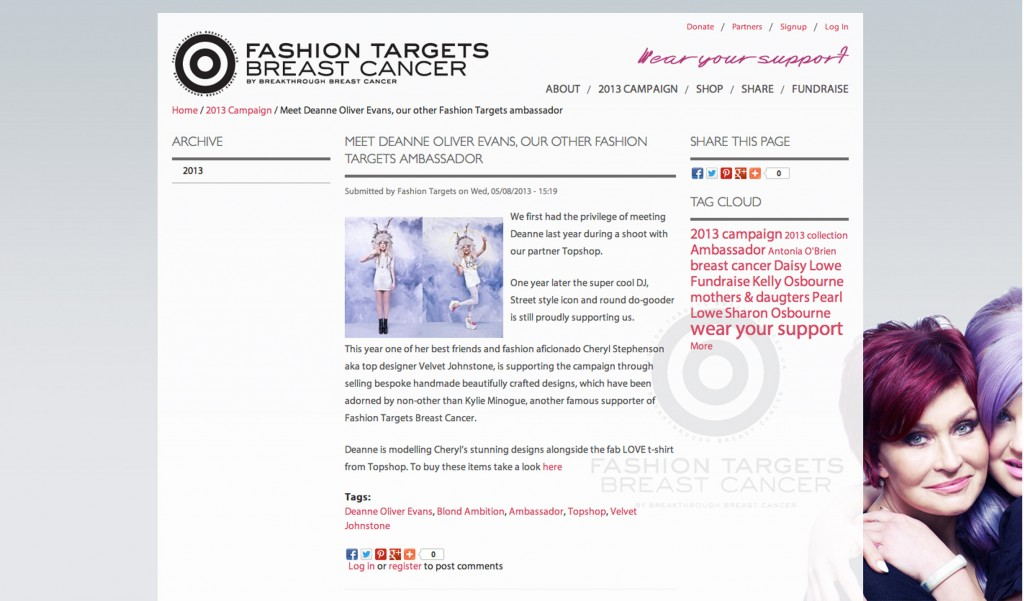 fashion targets blogpost