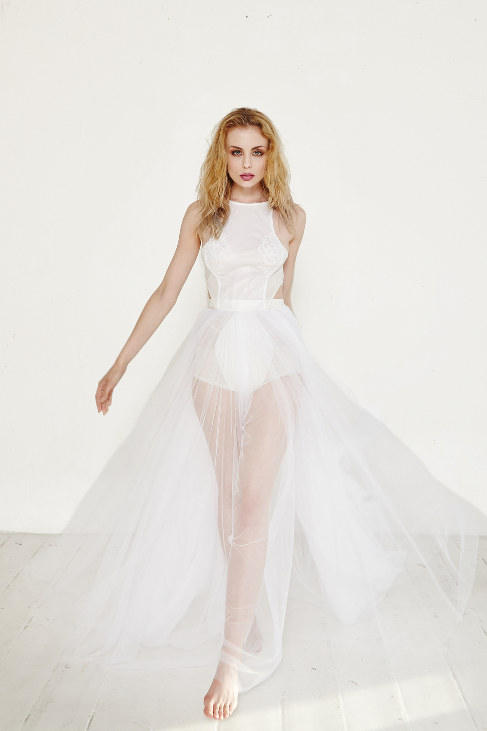 the 12 tulle gown