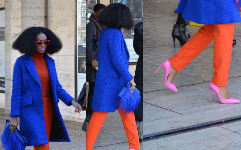 Solange adds to her style-icon status as she struts into MBFW