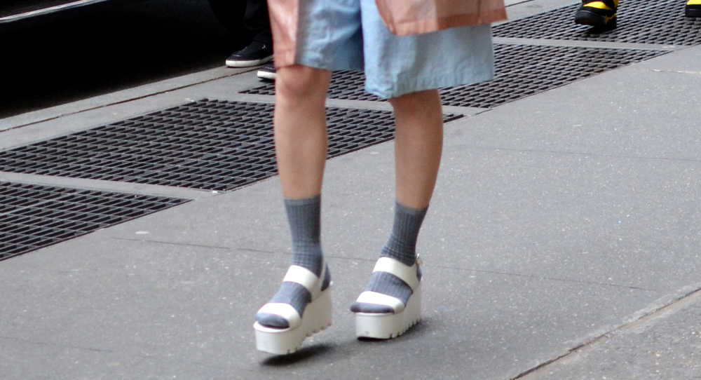 MTNG Originals Amber Platform Sandal
