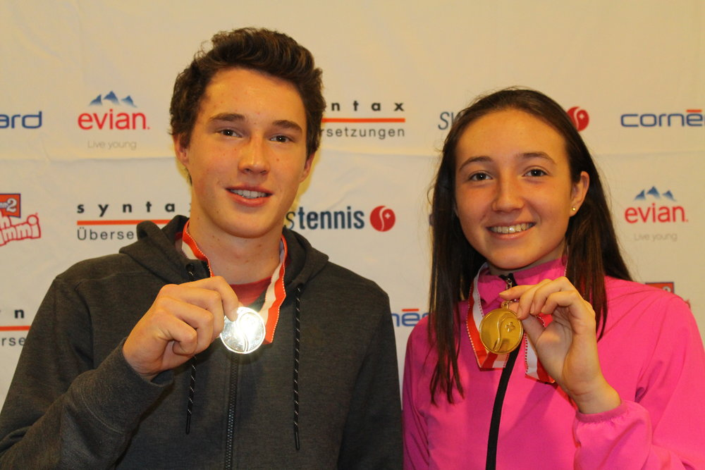 Jakub Paul and Leonie Küng winner U18!