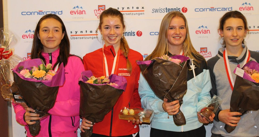 Leonie Küng, Simona Waltert, Dominique Meyer and Fiona Ganz!