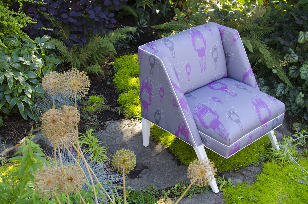 Chair refurbishing and fabric design