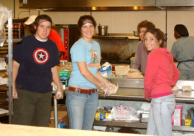 Food Center Volunteers