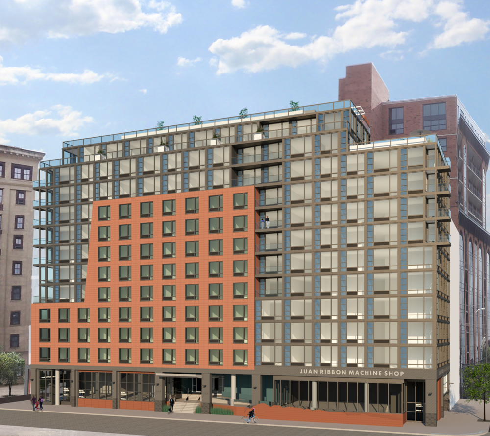 144 First Street - Proposed Elevation