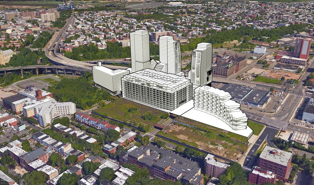 Urban Master Plan - Aerial View